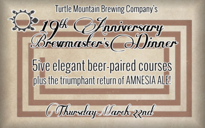 19th Anniversary Brewmaster's Dinner