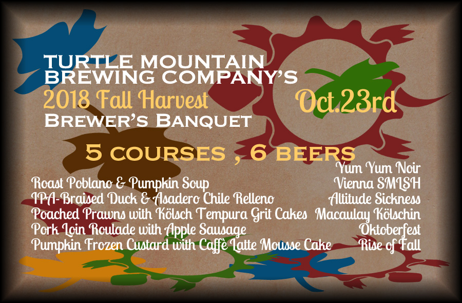 2018 Harvest Brewer's Banquet