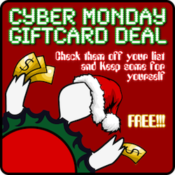 Cyber Monday Giftcard Deal