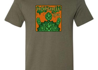 Hopshell IPA Logo T-Shirt