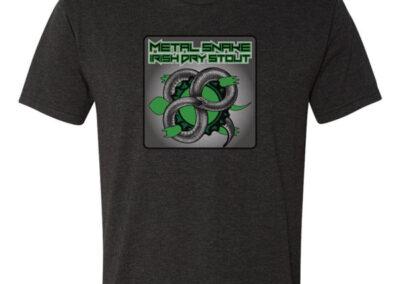 Metal Snake Stout Logo T-Shirt