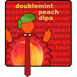 Double Mint Peach – Sour DIPA
