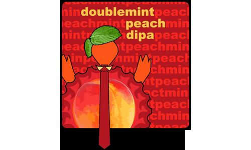 Double Mint Peach – Sour DIPA