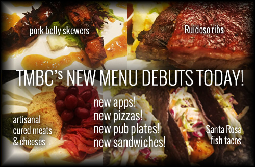 New Menu Items Today!