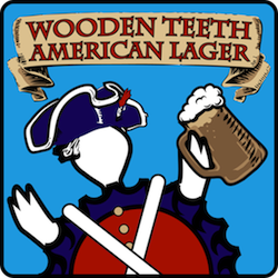 Wooden Teeth American Lager